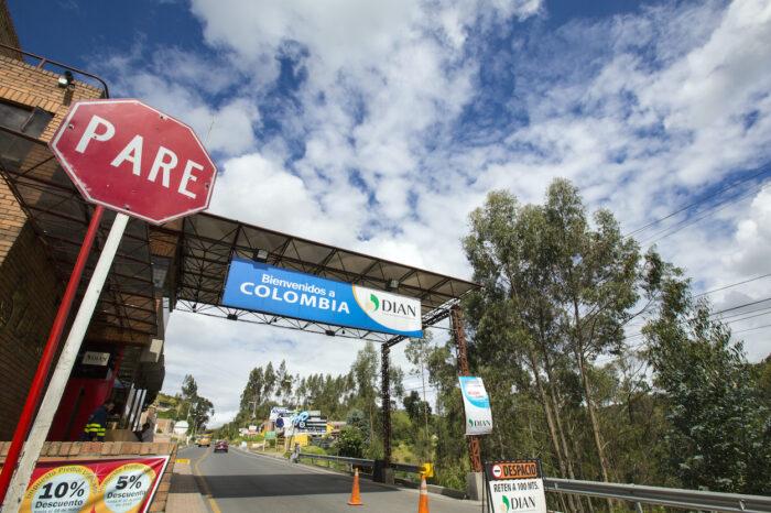 Colombian border