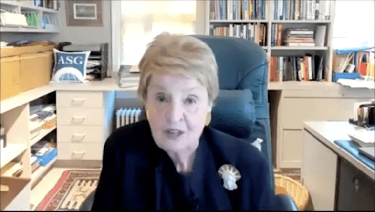 Secretary Madeleine Albright