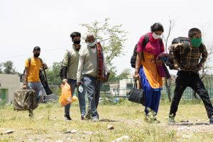 Migrant people in Dehradu-Uttarakhand/India