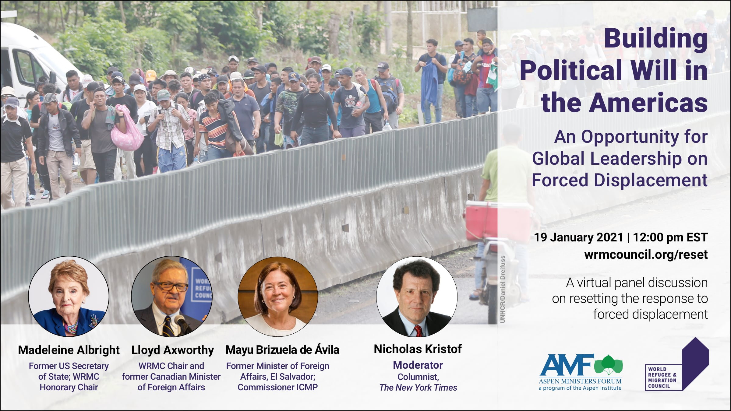 Panel Discussion: Building Political Will in the Americas: An Opportunity for Global Leadership on Forced Displacement