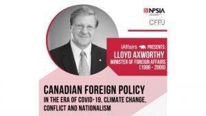 Lloyd Axworthy - Canadian Foreign Policy Event