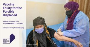 Vaccine Equity for the Forcibly Displaced